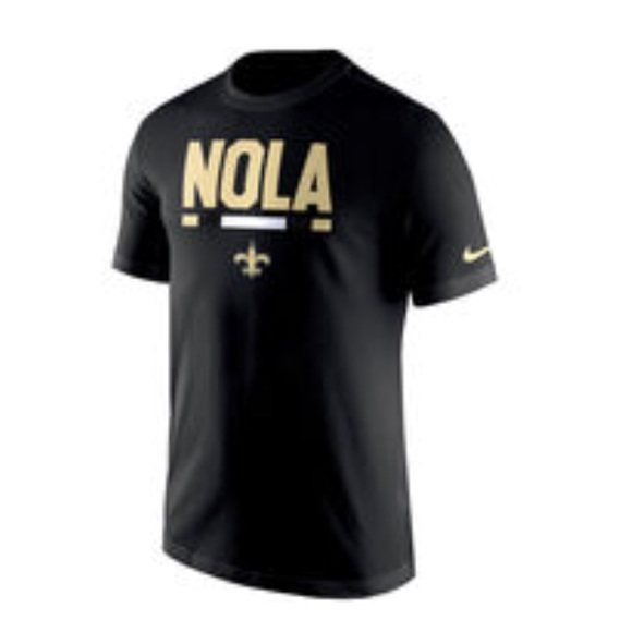 """new concept 269ef 712d4 Nike NFL shirt """"NOLA"""" New Orleans Saints"""